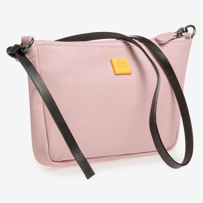 Light pink nappa leather bag