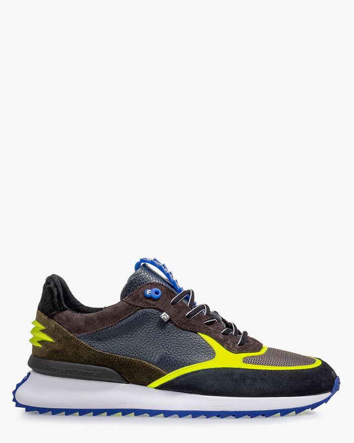 Sharki sneaker blue/yellow