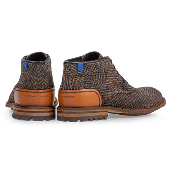 Crepi boot brown with print