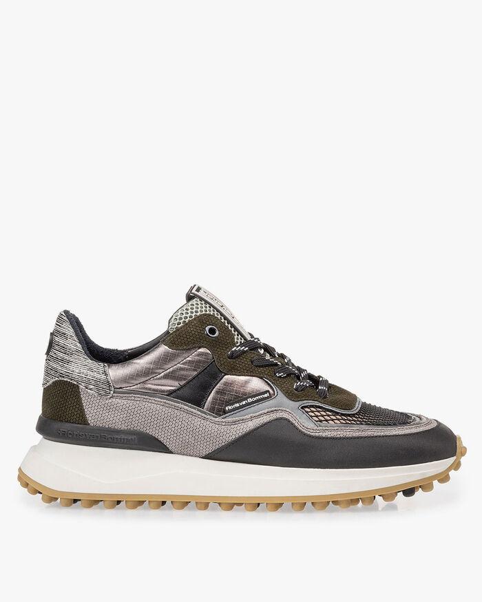 Noppi sneaker grey/green