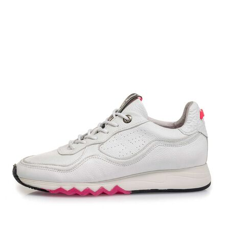 Nubuck leather women's sneaker