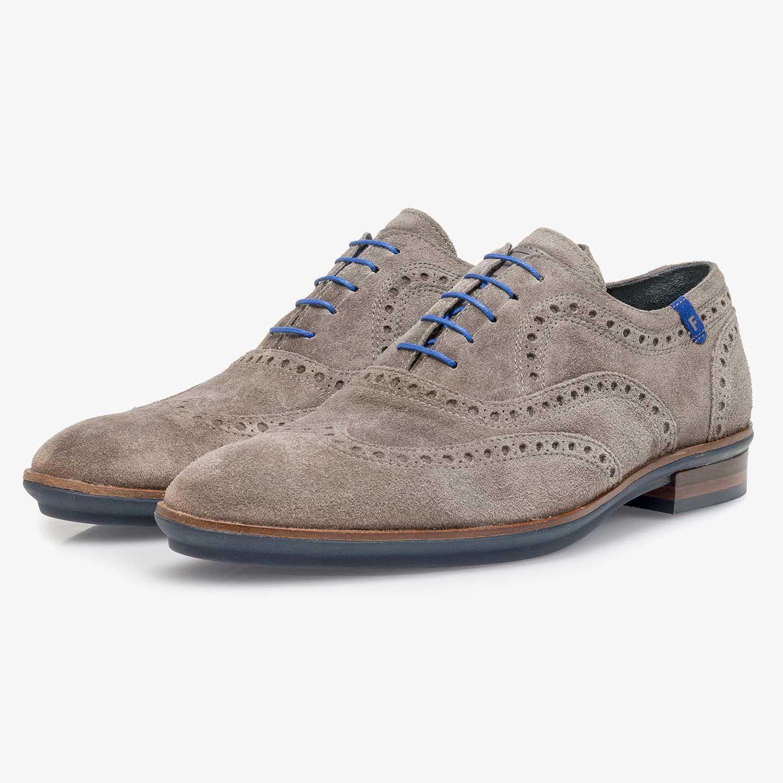 Taupe FLORIS VAN BOMMEL Business shoes 19048