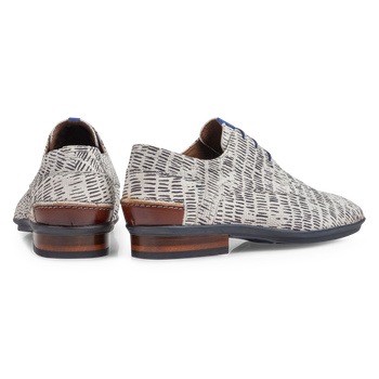Lace shoe nubuck leather