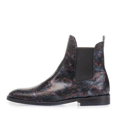 Chelsea boot croco print