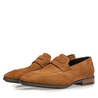 Leather loafer Van Bommel