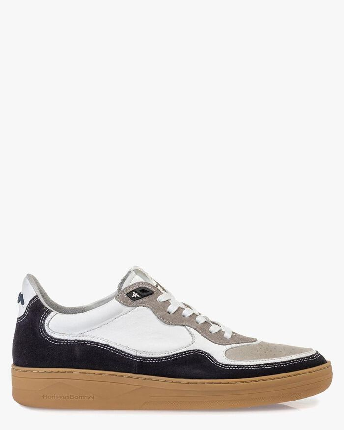 Sneaker suede leather black