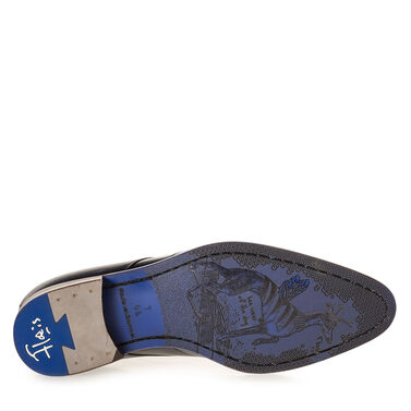 Lace shoe leather