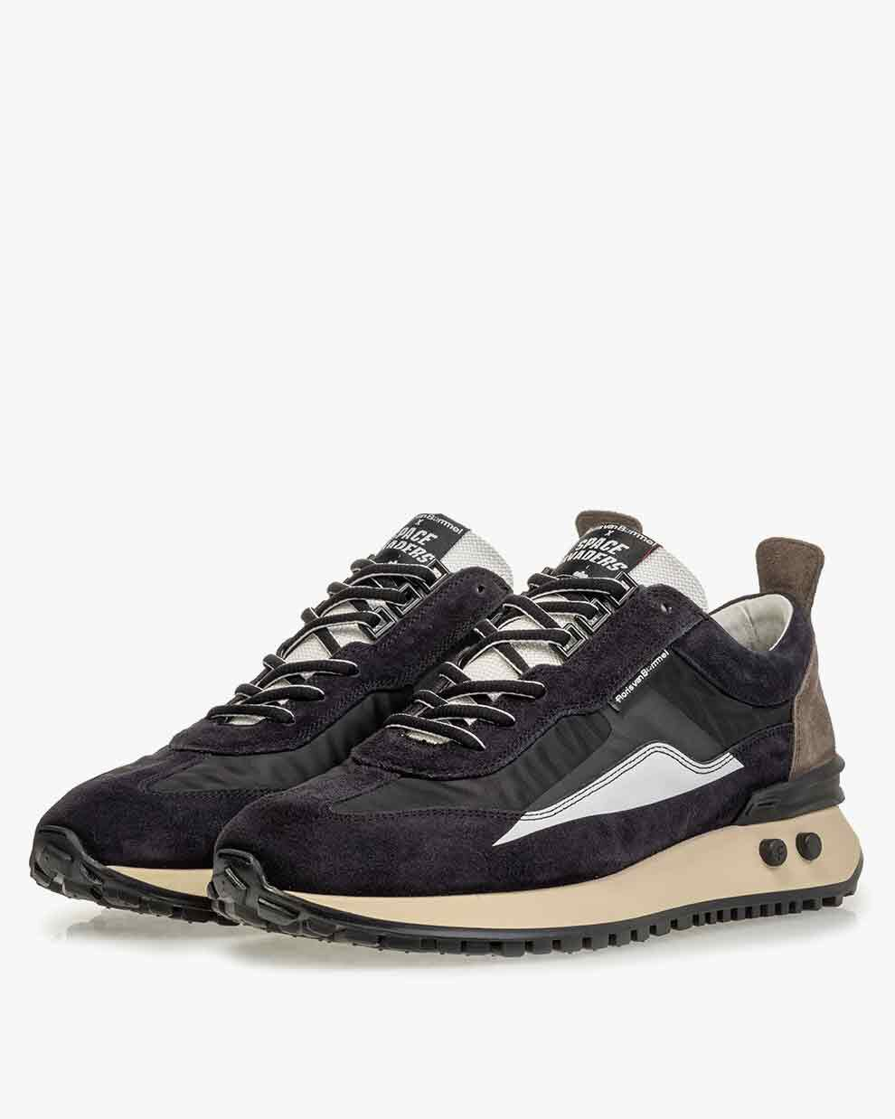 Sneaker space invaders black 16424/00   Floris van Bommel Official®