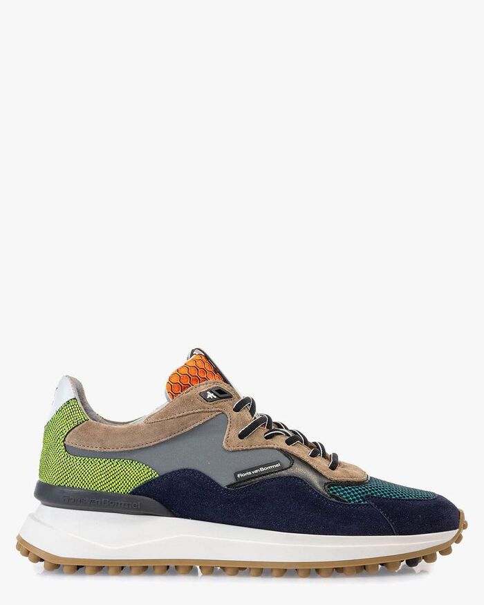 Noppi sneaker suede leather sand-coloured