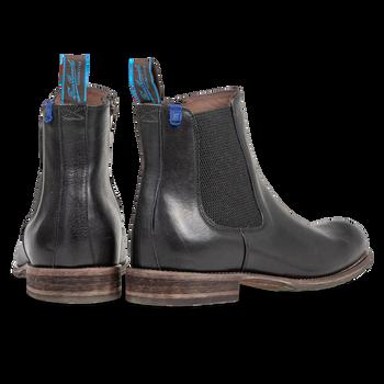 Lambskin lined Chelsea boot black