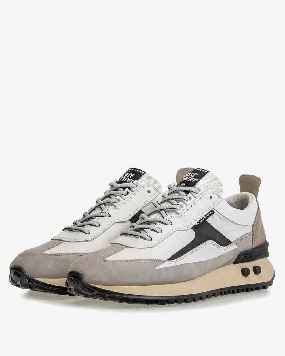Sneaker space invaders white 16424/01   Floris van Bommel Official®