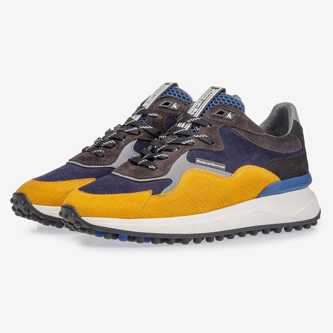 Noppi sneaker blue/yellow
