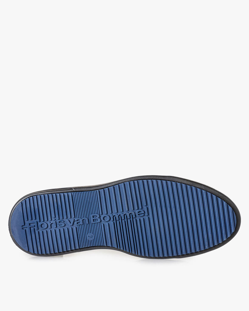 Boot zig-zag print grey