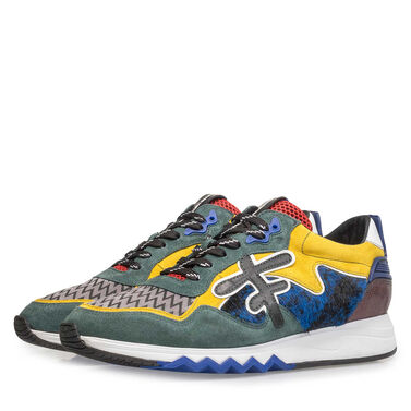 Premium multi-coloured sneaker