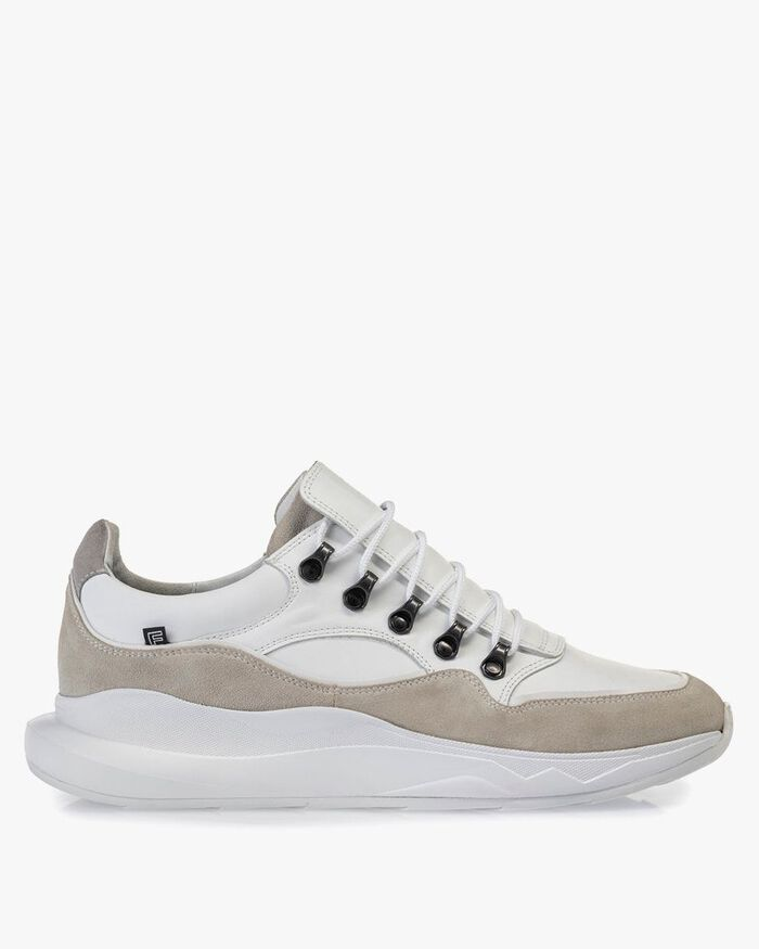 Bulki sneaker white leather