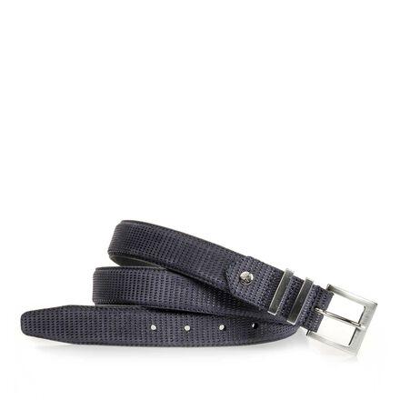 Leather women's belt
