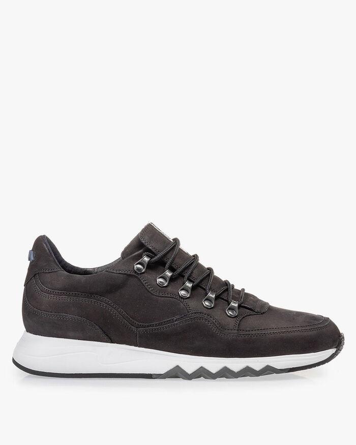 Sneaker black nubuck