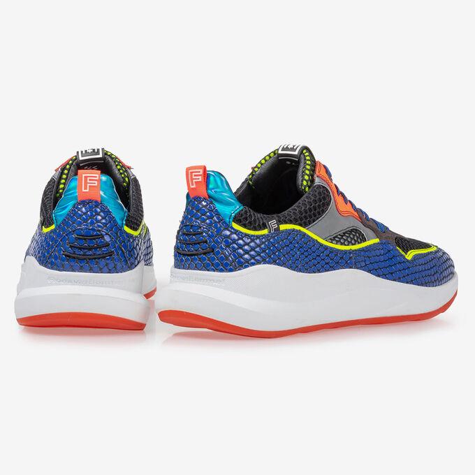 Bulki sneaker fluor blue