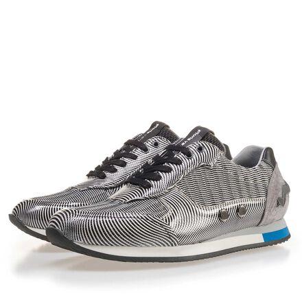 Sportive suede sneaker