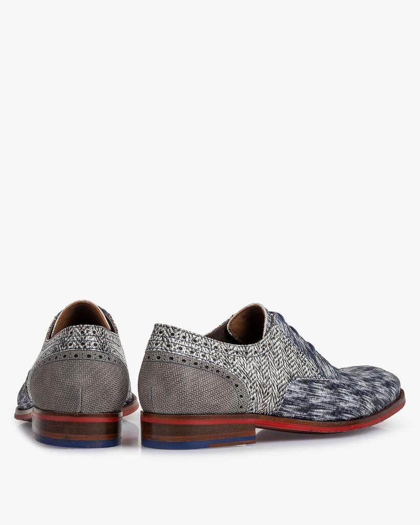 Lace shoe black/white