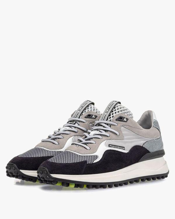 Noppi sneaker suede leather light grey