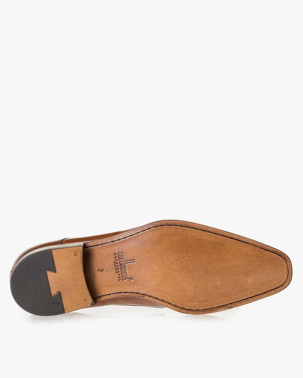 Monk strap calf leather cognac