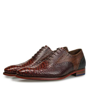 Floris van Bommel men's leather lace shoe