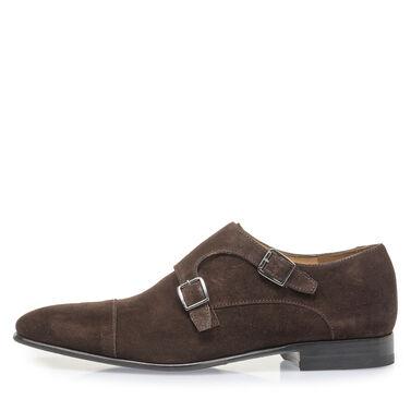 Calf leather monk strap