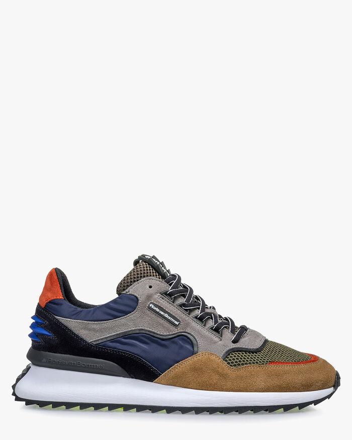 Sharki sneaker suede grey