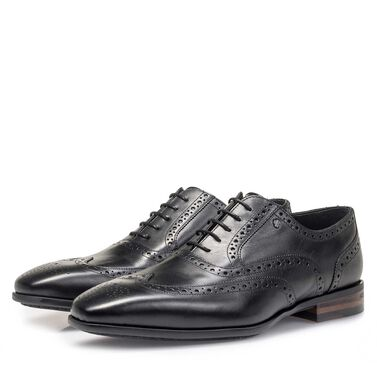 Calf leather brogue