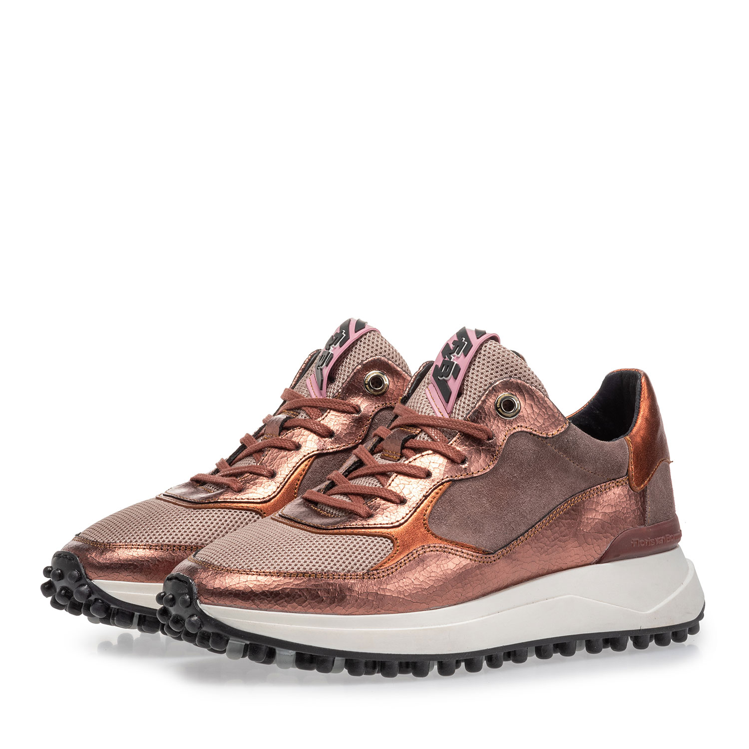 85307/12 - Noppi sneaker pink leather