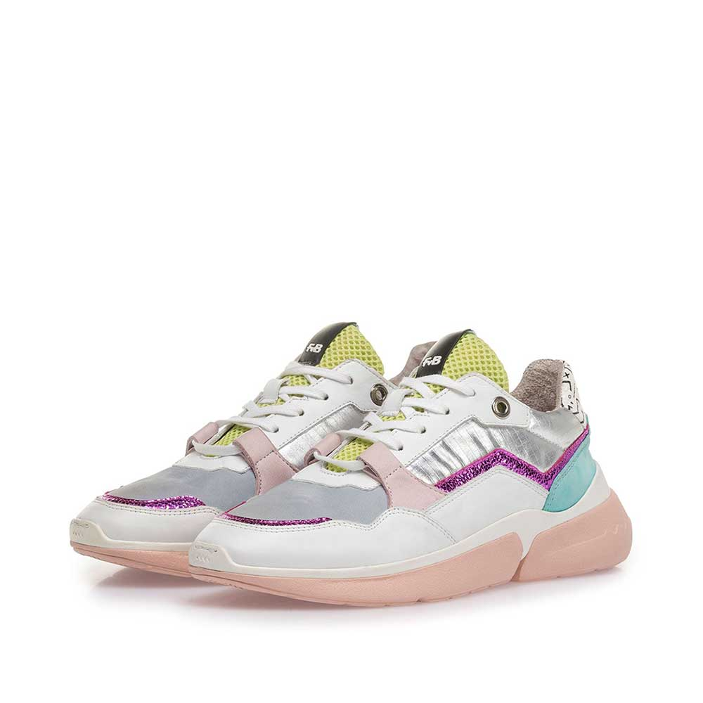 85291/19 - Multi-colour leather sneaker