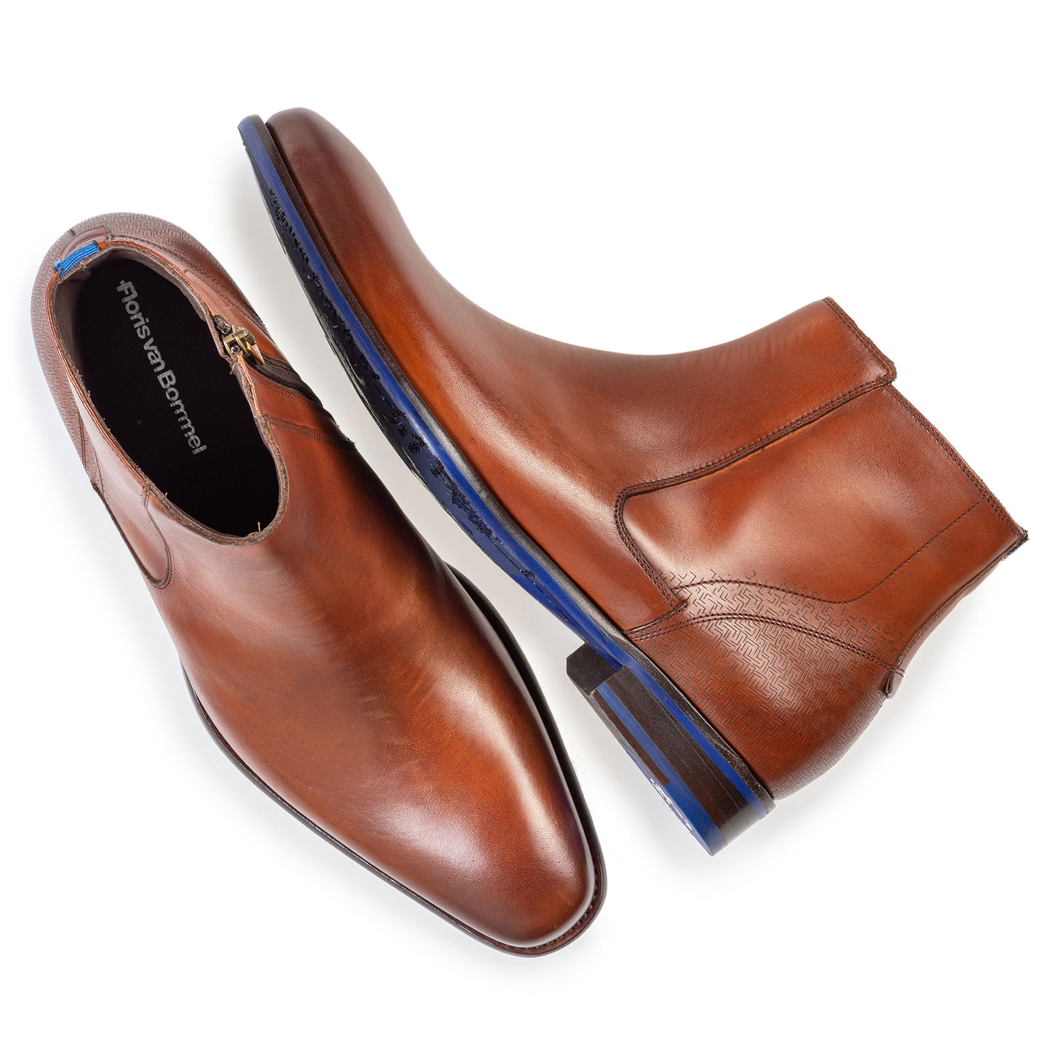 20131/00 - Chelsea boot cognac calf leather