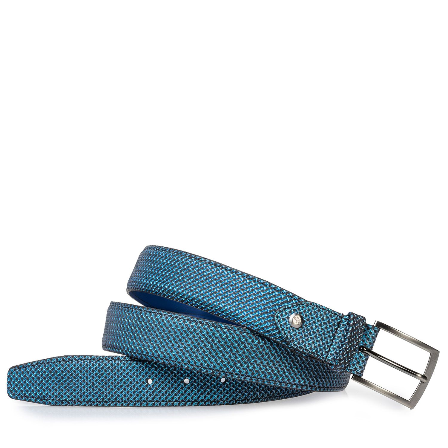 75203/40 - Belt blue metallic