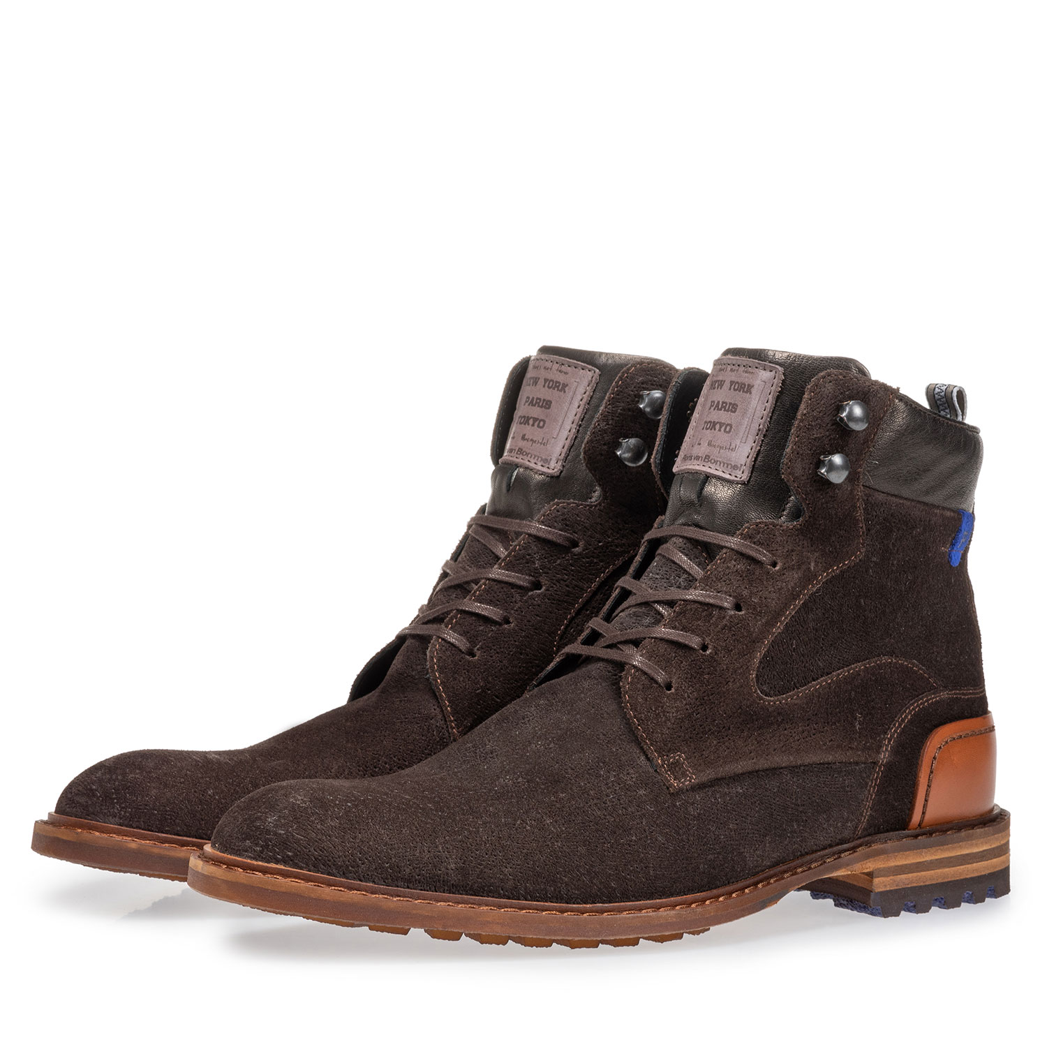 20100/03 - Crepi boot brown suede leather
