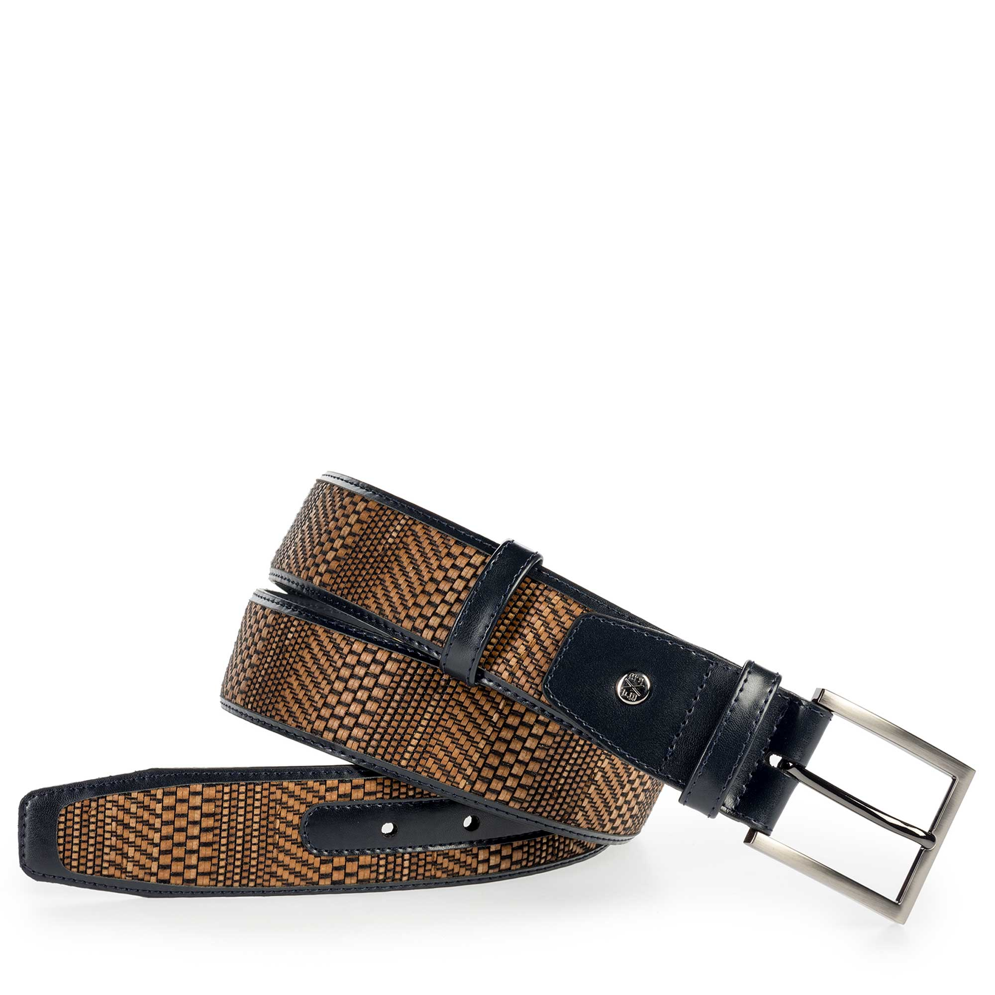 75159/03 - Floris van Bommel leather men's belt