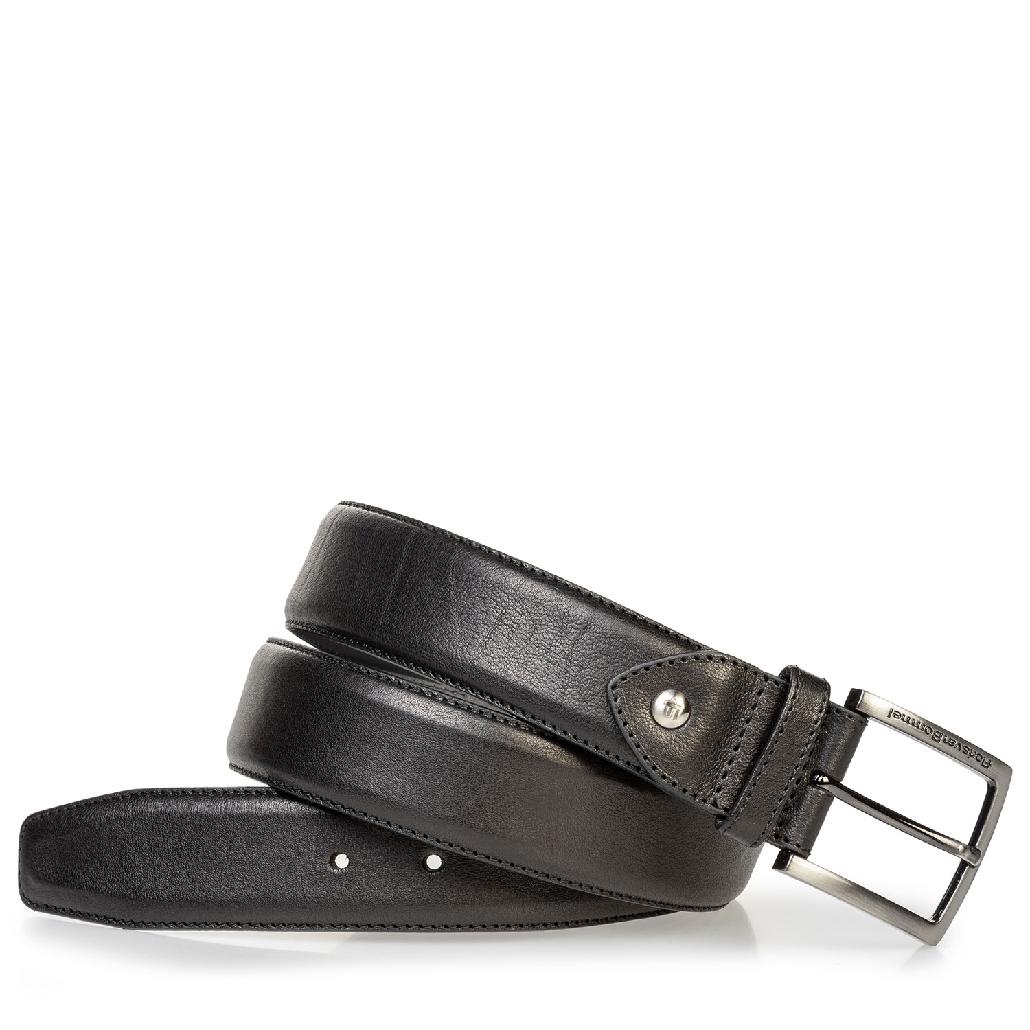 75202/92 - Calf leather belt black