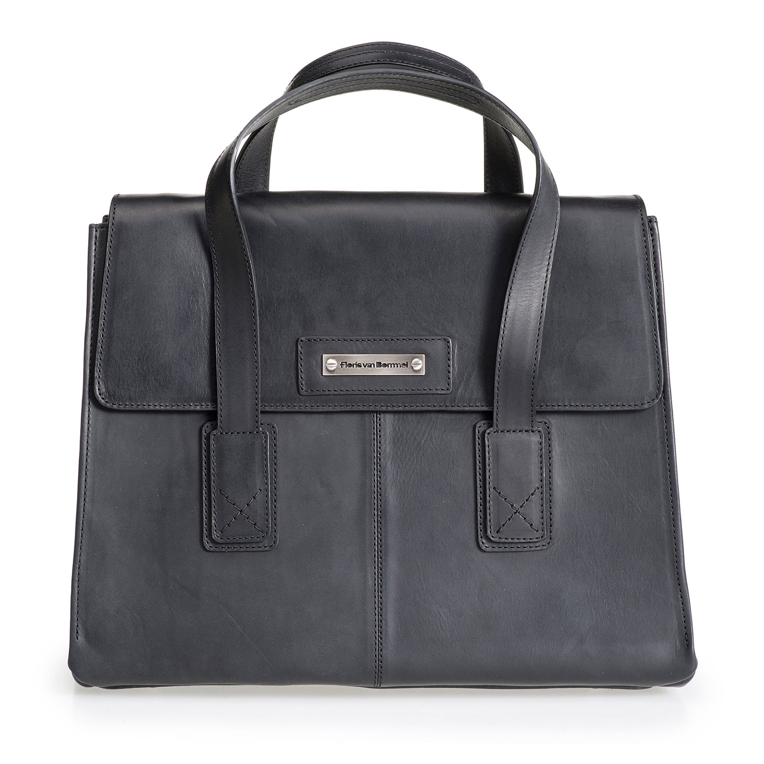 89009/00 - Black leather business bag