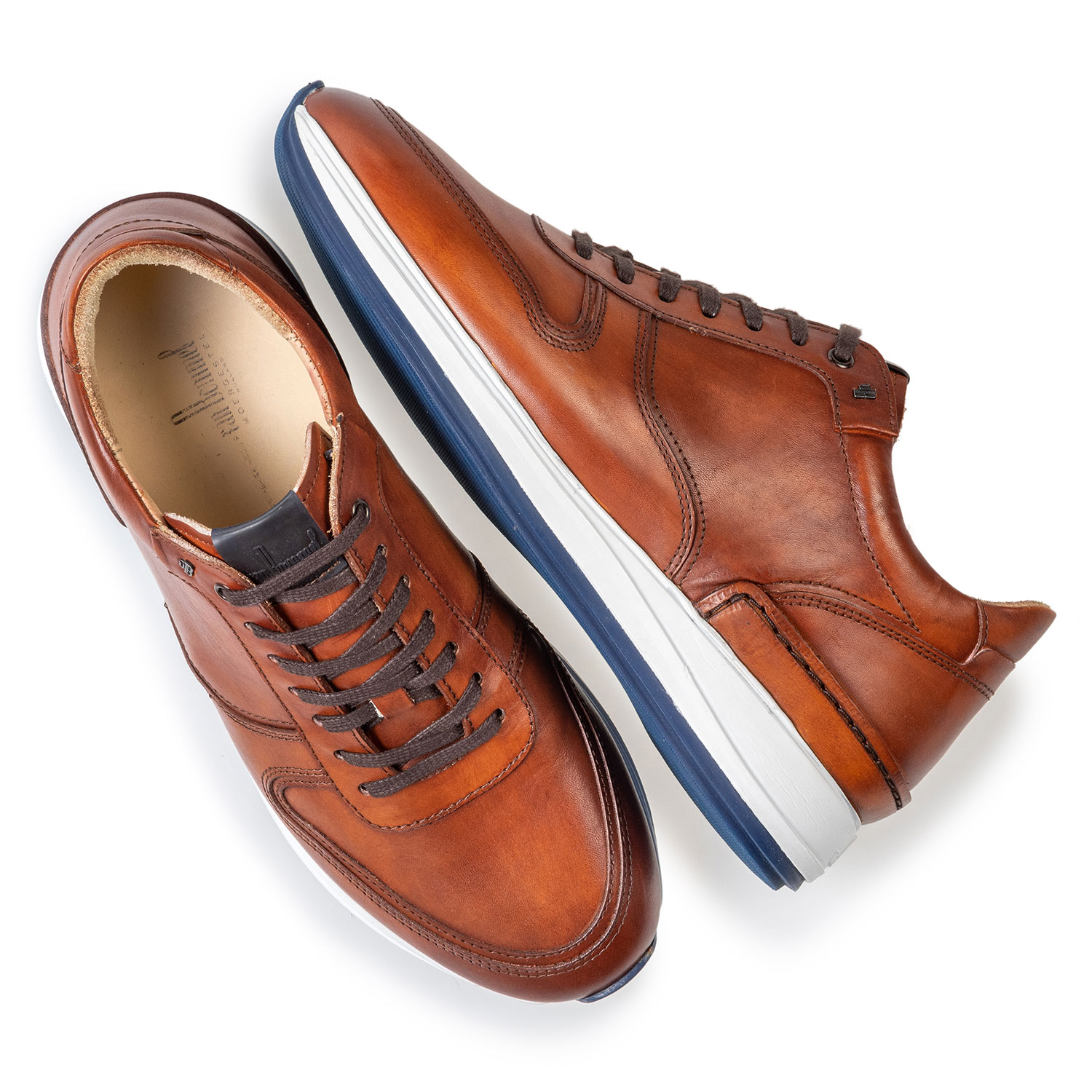 16334/00 - Sneaker calf leather cognac