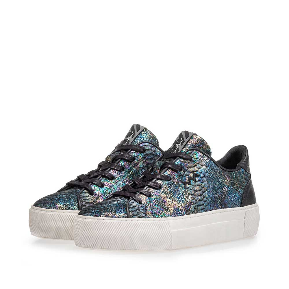 85297/08 - Sneaker snake print multi-colour