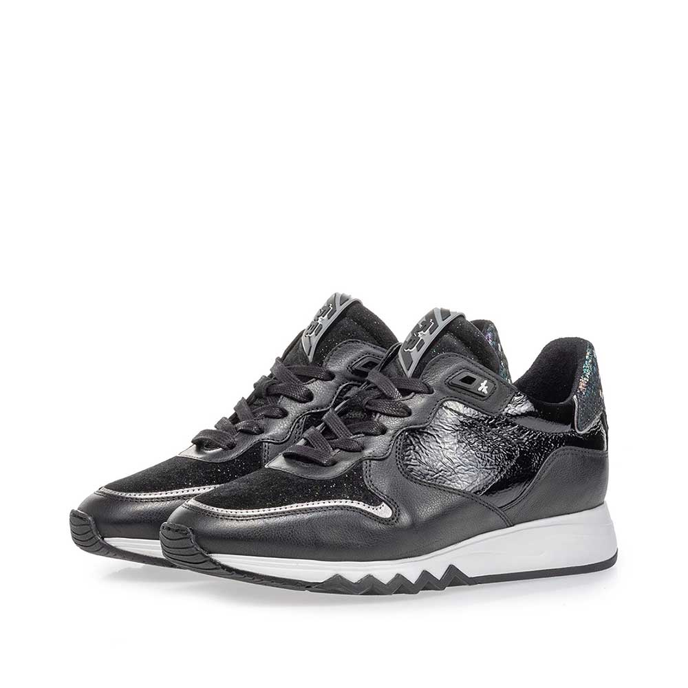 85302/12 - Nineti sneaker black leather