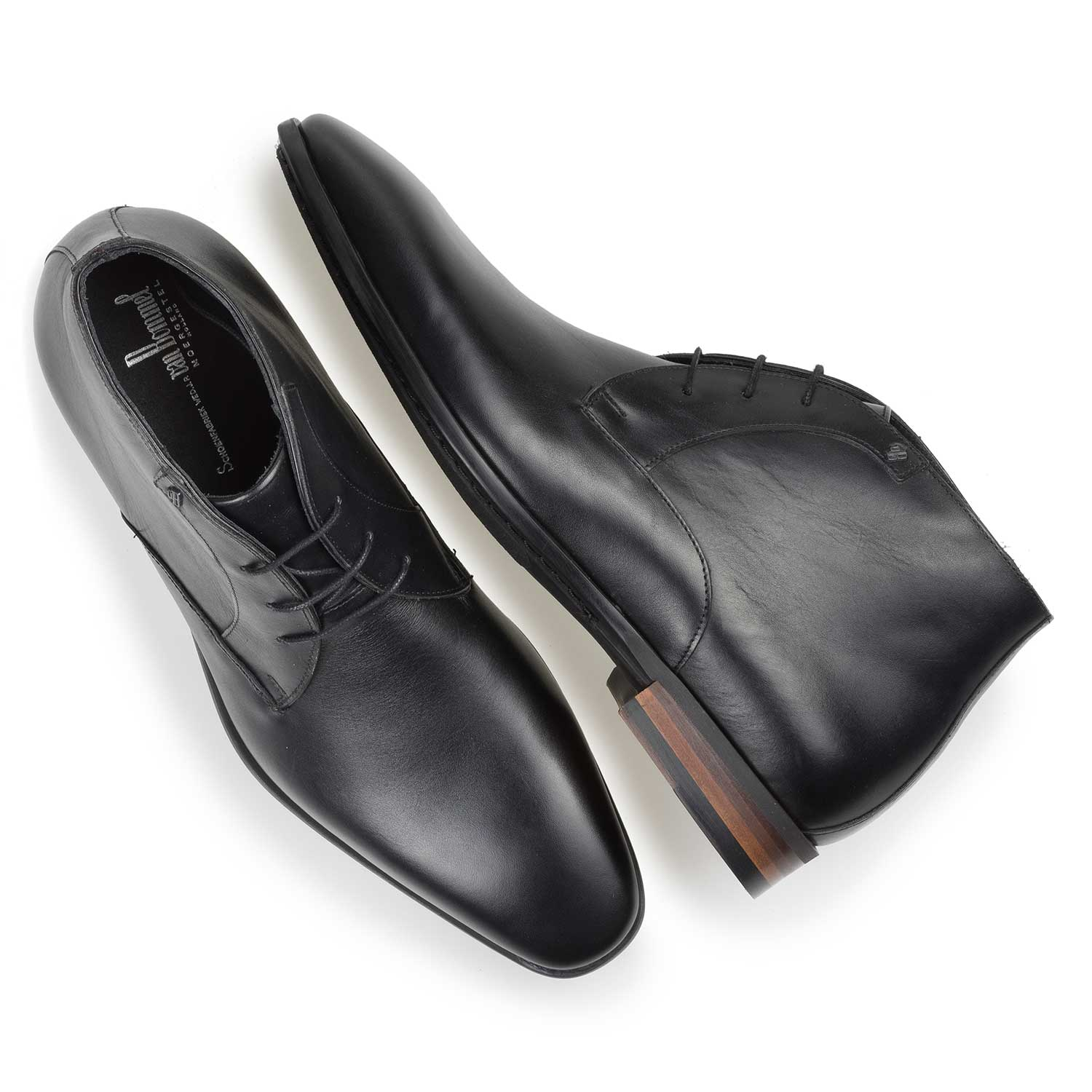 20057/05 - Black calf leather lace shoe
