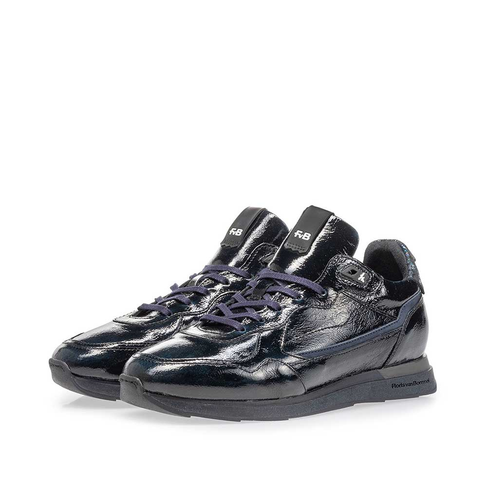 85312/03 - Sneaker blue patent leather