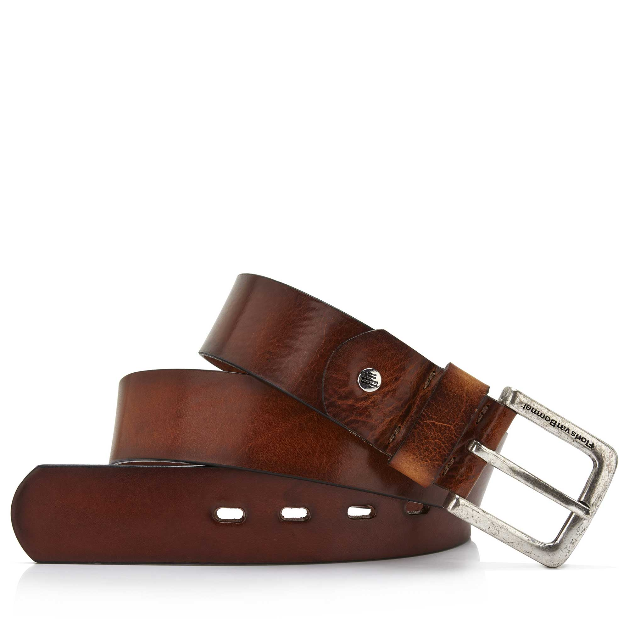 75045/00 - Medium brown leather belt