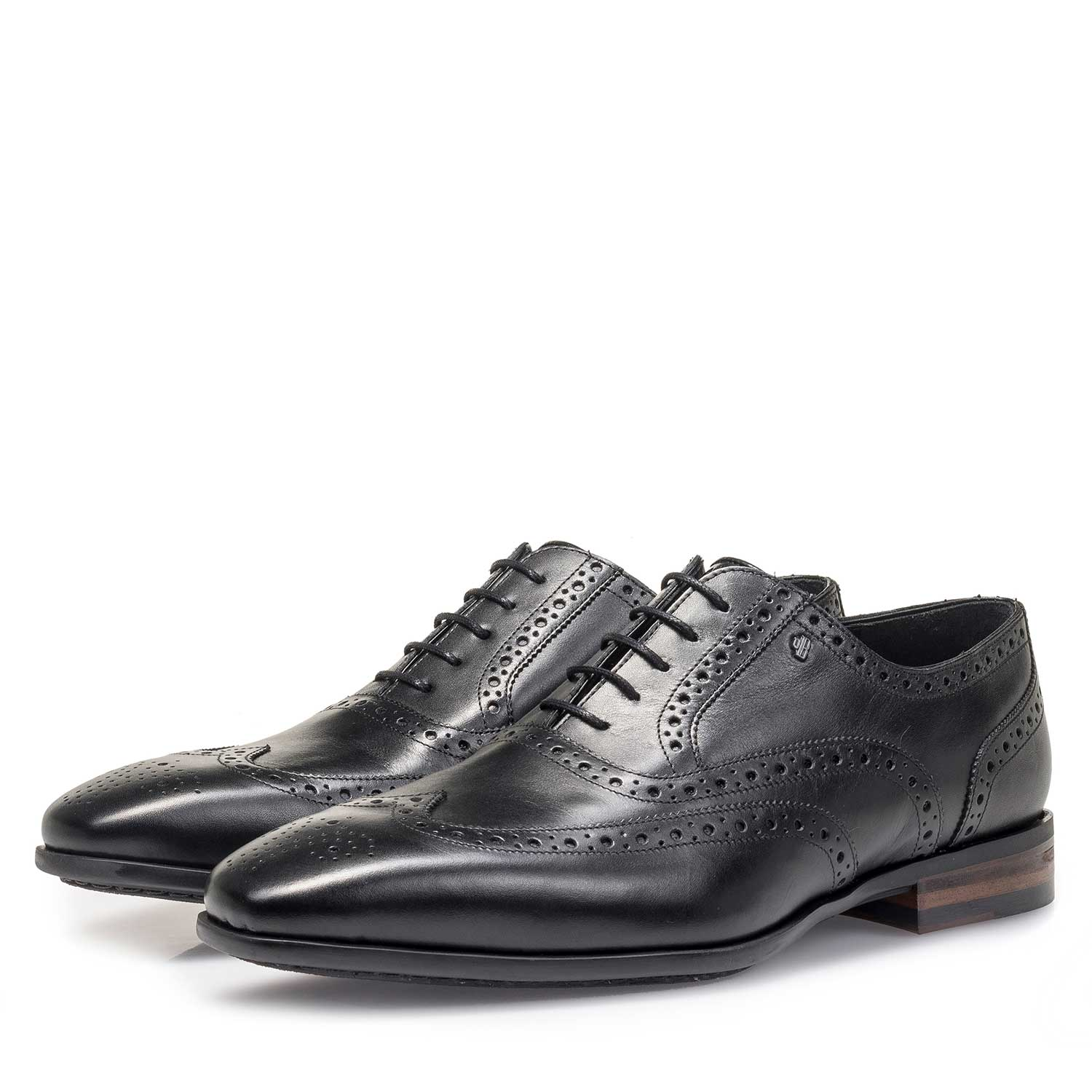 19105/05 - Black calf leather brogue